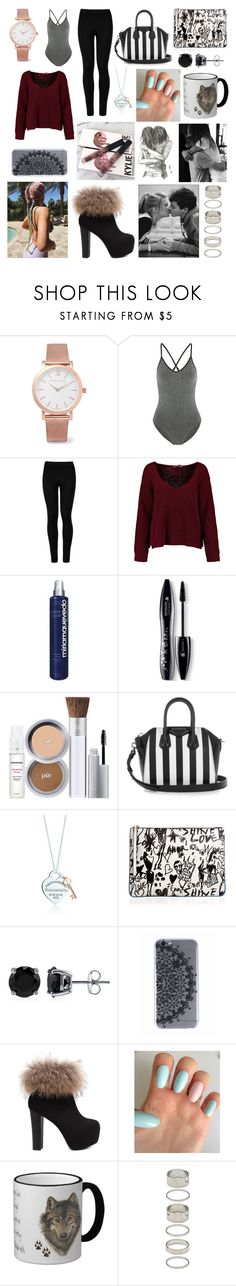 """""""Untitled #2045"""" by beau-4-ever ❤ liked on Polyvore featuring Larsson & Jennings, Ivy Park, Wolford, Miriam Quevedo, Lancôme, Givenchy, Lanvin, BERRICLE and Forever 21"""