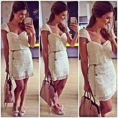 Bom dia ✨ Vestido deuso @mariahlimaoficial para @espacodesignmoda | #lookdodia #lookoftheday #ootd #selfie #blogtrendalert