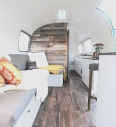 Vintage camper interior remodel ideas unique luna a