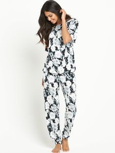 Definitions Floral Printed Lounge Set | very.co.uk