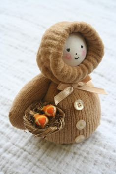 dolls made from mittens