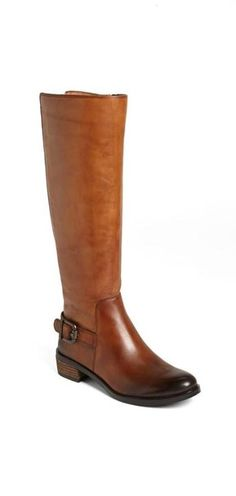 winter staple - brown riding boots
