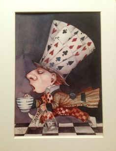 Mad Hatter (by Dominic Murphy)[Alice in Wonderland]