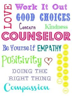 school counseling bulletin boards quotes and posters on
