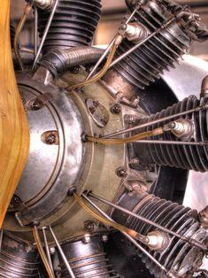 """Star engine of """"Elly Beinhorn"""" Airplane Mechanic, Airplane Pilot, Airplane Art, Bike Engine, Motor Engine, Aeroplane Engine, Motor Radial, Radial Engine, Hydrogen Fuel"""