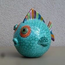 2019 The post 2019 appeared first on Clay ideas. Clay Fish, Felt Fish, Paper Mache Animals, Clay Animals, Paper Bag Flowers, Dollar Store Christmas, Cute Polymer Clay, Upcycled Crafts, Fish Art