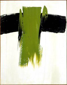 Composition 44, (1959) Paul-Émile Borduas. Chef de file du mouvement AUTOMATISTE et auteur principal du manifeste REFUS GLOBAL, Paul-Émile Borduas a une profonde influence sur le développement des arts au Québec.