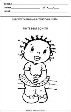 ATIVIDADES SOBRE A CONSCIÊNCIA NEGRA 2012 | Cantinho do Educador Infantil