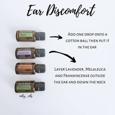 Essential Oils Ear Infection, Oils For Ear Infection, Ear Ache Essential Oil, Best Essential Oils, Essential Oil Uses, Young Living Oils, Young Living Essential Oils, Oils For Ear Ache, Doterra Essential Oils