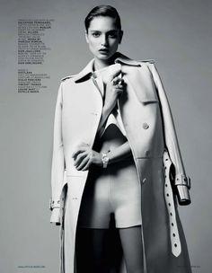 classe de sport: svetlana zakharova by simon crane for lofficiel paris may 2013   visual optimism; fashion editorials, shows, campaigns & more!