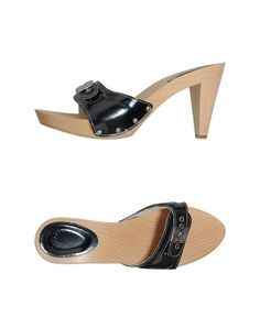 Scholl Women - Footwear - Platform sandals Scholl on YOOX Wooden Sandals, Walk In My Shoes, Heeled Mules, Clogs, Walking, Footwear, Heels, Casual, Platform