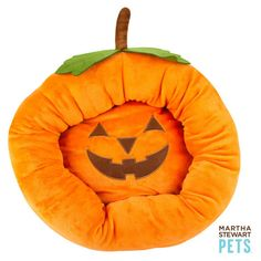 Martha Stewart Pets Pumpkin Bolster Dog Bed ($24) ❤ liked on Polyvore