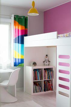 Parvisänky lastenhuoneessa Kids Bunk Beds, Loft Beds, Built In Bed, Decorating Blogs, Baby Room, Kids Room, Children, Instagram Posts, Interior Ideas
