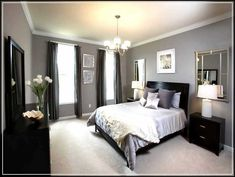 navy master bedroom ideas - Google Search