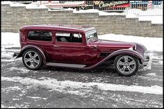 1932 Ford Sedan Street Rod 386 CI, Automatic