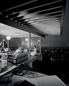 Case Study House #22  Los Angeles, 1960  Arq. Pierre Koenig