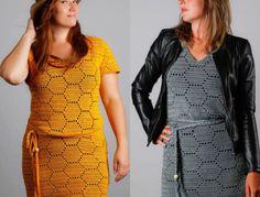 Dameskleren haken Archieven - CreaChick Stitch Crochet, Crochet Stitches, Knit Crochet, Crochet Vests, Crochet Fashion, Diy Fashion, Shrugs And Boleros, Summer Patterns, Learn To Crochet