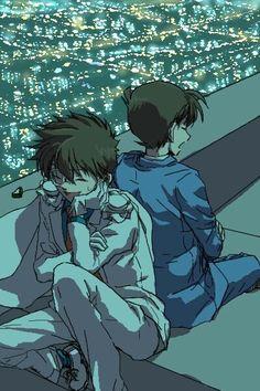--Kaito Kid and Shinichi--