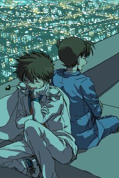 --Kaito Kid and Shinichi--