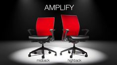 Amplify Product Introduction. Introducing, Amplify, the Power of More. A fun, entertaining video introduction to the new task chair by SitOnIt Seating.
