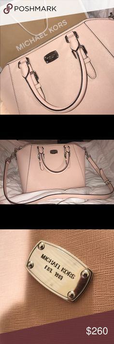 4836b0abc1f8cf Michael Kors Ciara Handbag Authentic Michael Kors designer handbag, in the  color Ballet Pink.