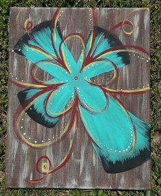 Rustic Teal Cross Painting by MrsTaylorsTidBits on Etsy Canvas Crafts, Diy Canvas, Canvas Art, Canvas Ideas, Cross Art, Cross Crafts, Paint And Sip, Cross Paintings, Acrylic Paintings