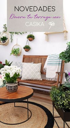 It's time to enjoy your terrace. Find out more with the best decoration and best price #masterbedroomdesign #backyardpatiodesigns Small Balcony Decor, Backyard Patio Designs, Terrace Design, Master Bedroom Design, Back Gardens, Sweet Home, New Homes, Room Decor, House Design