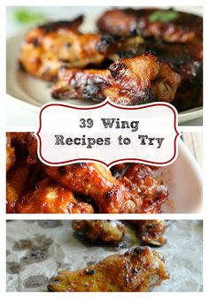 39 Hot Wing Recipes, these will make your #Gameday special.
