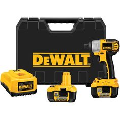 cool gift for dad hint hint dewalt cordless compact lithiumion drilldriver kit