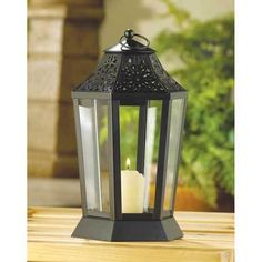 ' Midnight Garden Candle Lantern' is going up for auction at  12:30pm Wed, May 22 with a starting bid of $9.