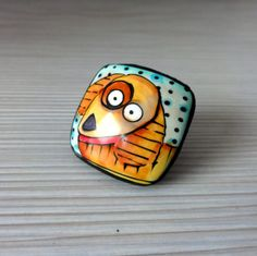 Ring polymer clay.