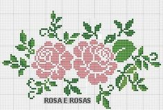 This Pin was discovered by ΕΛΕ Cross Stitch Borders, Cross Stitch Rose, Cross Stitch Flowers, Cross Stitch Charts, Cross Stitch Designs, Cross Stitching, Cross Stitch Embroidery, Embroidery Patterns, Cross Stitch Patterns
