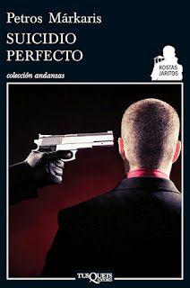 Suicidio Perfecto, Novela negra de Petros Markaris