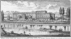 La Villa Farnesina in via della Lungara a Roma, nel cuore di Trastevere