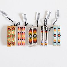 Your hair deserves cute accessories too, like these Navajo beaded hair clips.