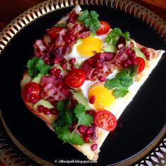 Aamiaispizza blogista Sillä sipuli