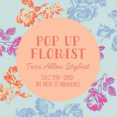 flower pop up shop