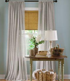 SheersSheer Curtains And Sheer Linen Rod Pocket