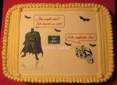 Tarta comic Batman