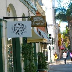Main Street in Ventura, loved to shop here. The antique stores are so darling here.