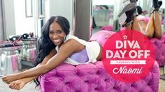 Call your mommas and clear your schedules: It's Naomi's Diva Day Off, exclusively on #WWE.com. PHOTOGRAPHY BY JON RAGEL
