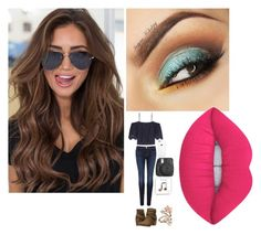 """Untitled #41"" by izzycooper115 on Polyvore featuring Rocket Dog, Accessorize, J Brand, Ganni, Fujifilm and Lime Crime"