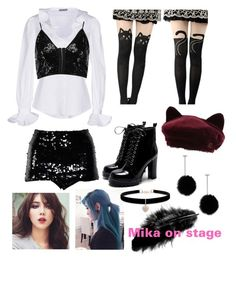 """""""Untitled #34"""" by mikaelabeck on Polyvore featuring Chanel, Alexander McQueen, Boohoo, Gipsy, Maison Michel, tuleste market and Betsey Johnson"""