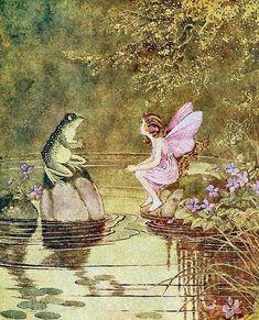 28 trendy ideas for fantasy art magic fairies pixies Pretty Art, Cute Art, Arte Peculiar, Fairytale Art, Fairytale Cottage, Hippie Art, Poster Prints, Art Prints, Posters