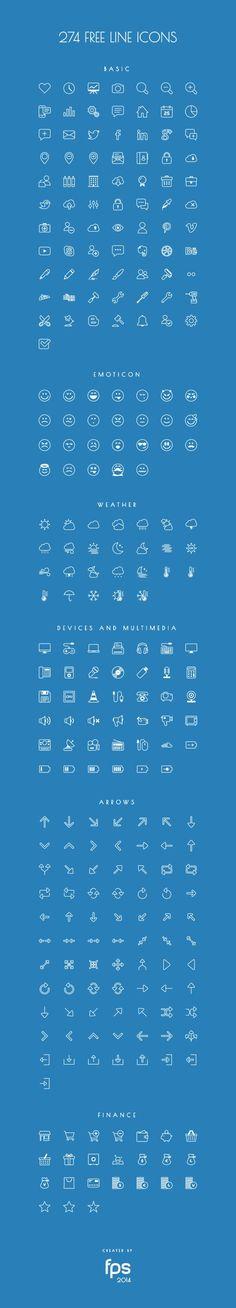 16 packs d'icônes gratuites pour le mois de novembre | Blog du Webdesign