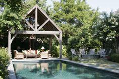 swimming pool cabana ideas - Google Search