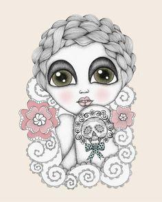 Rosalie | Danielle Reck #illustration