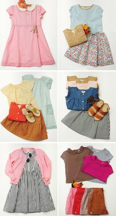 Summer clothes from Olive Juice Kids