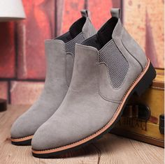 Department Name:Adult Item Type:Boots Shoe Width:Medium(B,M) Process:Sewing Platform Height:0-3cm With Platforms:Yes Closure Type:Elastic band Boot Height:Ankle Toe Shape:Round Toe Insole Material:Rub