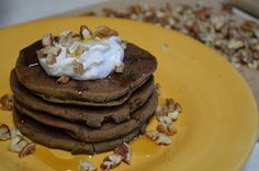 ... Free Pumpkin Spiced Teff Pancakes with Maple Coconut Whipped Cream and
